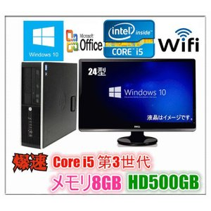 Windows 10 Microsoft Office Personal 2013付 新品HD1TB 22型大画面液晶 DELL Optiplex 780 高速Core2Duo E7500 2.93G メモリ4G HDD新品1TB DVD