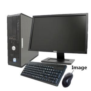中古パソコン 高速メモリ8GB+HD1TB(Win 7 Pro 64bit)(Office)22型液晶セット/DELL Optiplex 780 高速Core2Duo/8GB/新品1TB/DVD/無線付/中古パソコン|touhou-shop