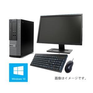 中古パソコン Windows 10 23型液晶セット 新品HD1TB メモリ8GB Office 2013 DELL Optiplex 790 SFF Core i5 2400 3.1G/DVD/無線付/美品(DP7443-01-4g)|touhou-shop