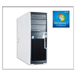 中古パソコン ワークステーション(Windows 7 Pro 64Bit) HP XW4600 Core2Duo E8400 3G/2G/250GB/DVD-ROM/ATI FireMV 2250 256MB(EC) (DP7407-503)|touhou-shop