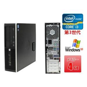 中古パソコン 中古デスクトップパソコン(Windows XP Pro) HP XW4600 Core2Duo E8400 3G/2G/250GB/DVD-ROM/ATI FireMV 2250 256MB(EC) (DP7407-503)