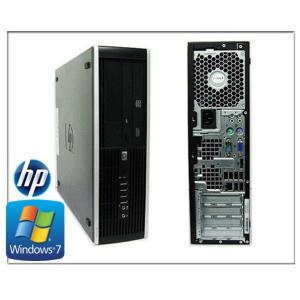 中古パソコン デスクトップパソコン ポイント5倍(Windows 7 Pro) (OFFICE付) HP Compaq 8000 Core2Duo E7500 2.93G/メモリ2G/160GB/DVDドライブ(8000-win7)|touhou-shop