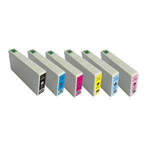 EPSON IC35系/IC6CL35 互換インクカートリッジ 6色セット【エプソン】【汎用品】【メール便対応】 【新品】|touhou-shop