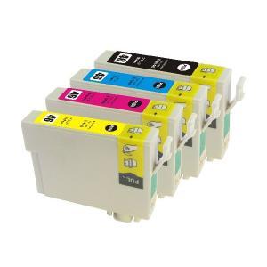 EPSON IC46系/IC4CL46 互換インクカートリッジ 4色セット【エプソン】【汎用品】【メール便対応】 【新品】|touhou-shop