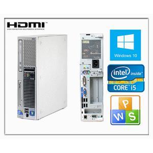 中古パソコン デスクトップ Windows 10 激安 HDMI端子付 日本メーカーNEC ME-A 爆速Core i5 650 3.2GHz メモリ2GB HD160GB DVDスーパーマルチ Officeソフト付|touhou-shop