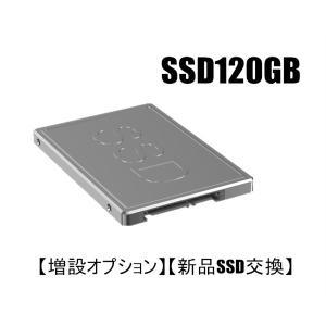 【増設オプション】【新品SSD交換】 新品SSD120GBへ変更オプション 当店のデスクトップパソコン 同時購入者様専用|touhou-shop