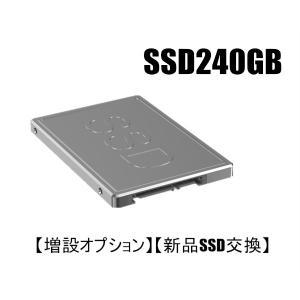 【増設オプション】【新品SSD交換】 新品SSD240GBへ変更オプション 当店のデスクトップパソコン 同時購入者様専用 touhou-shop