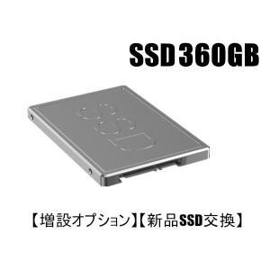 【増設オプション】【新品SSD交換】 新品SSD360GBへ変更オプション 当店のデスクトップパソコン 同時購入者様専用|touhou-shop