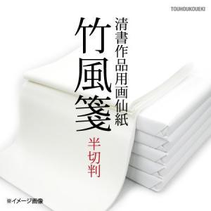 画仙紙 半切 「竹風箋」 35×135cm|touhoukoueki