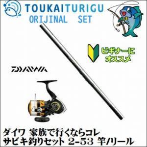 ダイワ サビキ釣りセット 2-53 ダイワ サビキ/初心者 入門 簡単|toukaiturigu