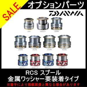 スピニングリール オプションパーツ ダイワ リアル カスタム システム スプール 金属ワッシャー要装着タイプ RCS 2004ブルー (DA|toukaiturigu