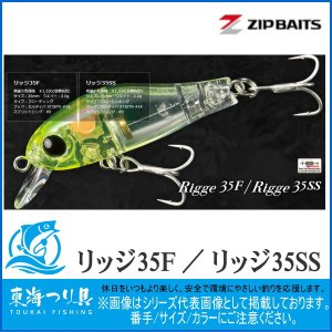 リッジ35F ジップベイツ プラグ toukaiturigu