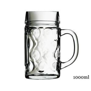 ドン ビアマグ1.0【容量1000ml・1L・ビアジョッキ・ビアグラス・ビールジョッキ・ガラス・イタリア製】【trysワ】