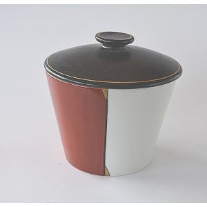 蓋つき鉢 すのこ付き 紅白塗分け アイスポット アイスペール toukistudio
