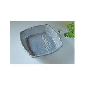 鼠志野 手作り角鉢|toukistudio