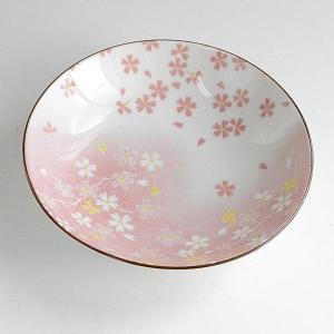 ピンク桜中鉢 豊里窯|toukistudio