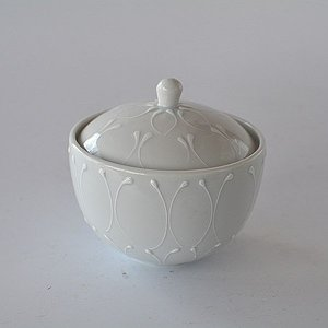 小鉢 蓋つき小鉢 白一珍 toukistudio