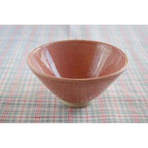 松助窯 ピンクカフェボウル ご飯茶碗|toukistudio
