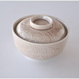 松助窯 手作り カラフルご飯茶碗 青