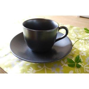 リンドスタイメスト黒いコーヒーカップ/ソーサー|toukistudio