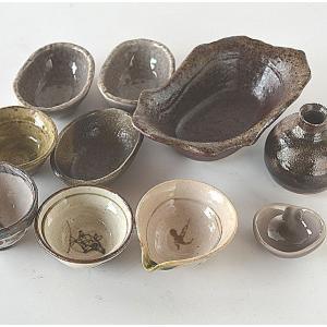 福袋 高級美濃焼き和食器C10点セット ブルー系 toukistudio