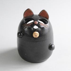 黒猫の香立て|toukistudio