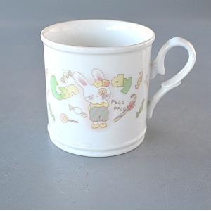 ホワイトシンプル 大きなマグカップ|toukistudio