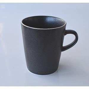 マグカップ ブラック白ライン Crate&Barrel toukistudio
