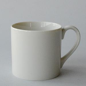 クラシックホワイト 安定のいいマグカップ toukistudio
