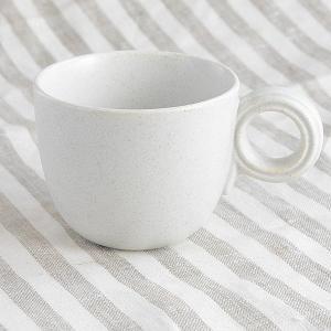 Lindt&Stymesit マット ホワイト マグカップ toukistudio