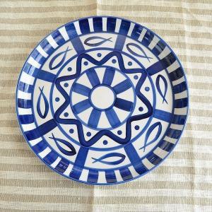 アラベスク ディナー皿|toukistudio