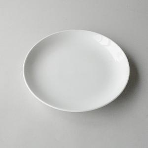 ディナー皿 真っ白 玉縁|toukistudio
