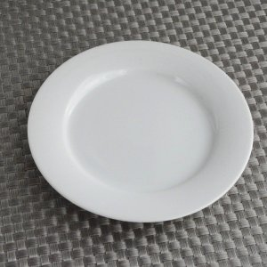 パン皿 シンプル白|toukistudio