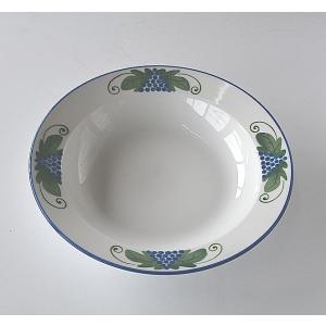 白スープ皿L|toukistudio
