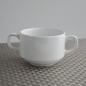 両手付きスープカップ スタッキング仕様  DIA CERAM|toukistudio