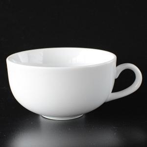 シンプルな白いスープカップ|toukistudio
