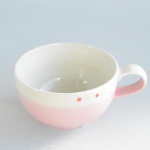 ピンクドット スープカップ|toukistudio