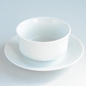 ホワイトスープカップ カップ&ソーサー|toukistudio