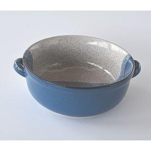 両手付きスープカップ 塗分け グラタン皿|toukistudio