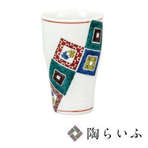 九谷焼 フリーカップ 石畳<和食器 フリーカップ  ギフト 人気 贈り物 結婚祝い/内祝い/お祝い>|toulife