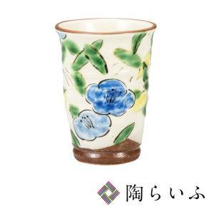 九谷焼 フリーカップ 椿文/東孝子<和食器 フリーカップ  ギフト 人気 贈り物 結婚祝い/内祝い/お祝い>|toulife