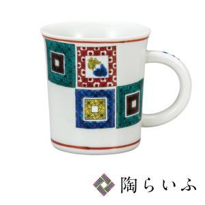 九谷焼 マグカップ 石畳<和食器 マグカップ ギフト 人気 贈り物 結婚祝い/内祝い/お祝い>|toulife