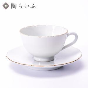 (九谷焼)輪花カップ&ソーサー/宮腰徳二|toulife