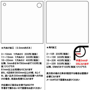 アクリル板(押出し)スモーク-板厚(5ミリ)-910mm×600mm  toumeikan 04