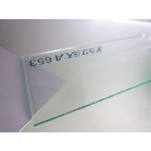 アクリル板(押出し)ガラス色-板厚(10ミリ)-1100mm×650mm |toumeikan