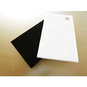 アクリル板(押出し)白黒-板厚(3ミリ)-910mm×910mm |toumeikan