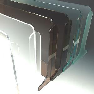 アクリル水はね防止キッチンスタンドW900 レビューを書いて送料無料 スタンダードタイプ<br>ワイドサイズがオーダー制! 全9色 奥行き3種|toumeikan|02