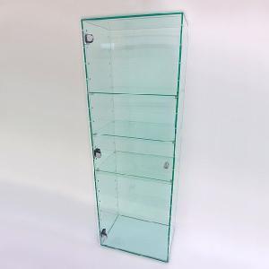アクリルガラス色コレクションラック(扉つき) W300×D200×H900  (アクリルケース)|toumeikan
