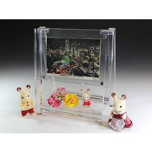 置き看板型フォトスタンド横長 (フォトフレーム)(写真立て)|toumeikan