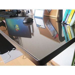 アクリルテーブルマット600mm×900mm-板厚(2mm) アクリル板(透明)|toumeikan